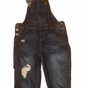 True craft women's bluejean overalls-size 3